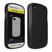 Body Glove Black Dimensions Series Slim Protective Crystal Silicone Case for Blackberry Q10 - CRC93498