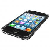 Clear CellHelmet Super Tough Crystal Silicone Case w/ Accidental Damage Coverage for Apple iPod Touch 4 - CH-iPod-4-Clear