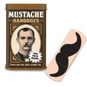 Mustache Band-Aids in Collectible Tin - Comes w/ Free prize!