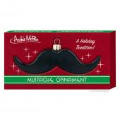 Black Mustache Ornament