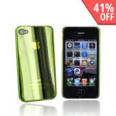 Original Ventev Apple iPhone 4 Ultra Thin Hard Back Cover, 385954 - Transparent Green
