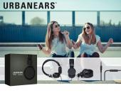 Original Urbanears Plattan Universal Over Ear Collapsible Headphones w/ Mic/ Remote/ Fabric Cord, 4090058 - Black (3.5mm)