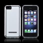 OEM Body Glove Tactic Apple iPhone 5/5S Hybrid Hard Case  CRC92966 - White/ Gray