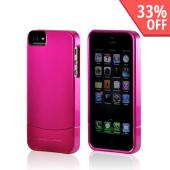 Body Glove Pink Vibe Series Hard Slider Case for Apple iPhone 5/5S