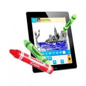 Original Homade Universal iCrayon Stylus Pen for Touch Screen - Black Crayon