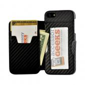 Thumbs Up! iWallet Leather Hard Case w/ ID Slots and Magnetic Closure for Apple iPhone 5/5S