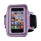 Pink/ Silver OEM Naztech Universal Armband for Smart Phones and MP3 Players