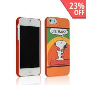 iLuv Orange Snoopy Vintage Series I Hardshell Case for Apple iPhone 5/5S - ICA7H382ORG