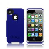 Otterbox AT&T/ Verizon Apple iPhone 4, iPhone 4S Hybrid Commuter Series w/ Screen Protector - Blue/ White