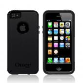 Otterbox Black Commuter Series Silicone Over Hard Case w/ Screen Protector for Apple iPhone 5