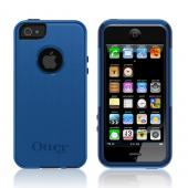 Otterbox Night Sky Blue/ Navy Blue Commuter Series Hard Case Over Silicone w/ Screen Protector for Apple iPhone 5