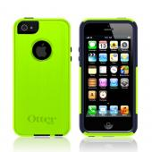 Otterbox Lime Green/ Black Commuter Series Hard Case Over Silicone w/ Screen Protector for Apple iPhone 5