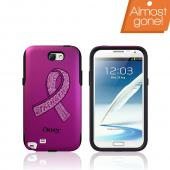 Otterbox Hot Pink/Black Avon Commuter Series Hard Case over Silicone w/ Screen Protector for Samsung Galaxy Note 2