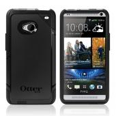 Otterbox Black Commuter Series Hard Case over Silicone w/ Screen Protector for HTC One
