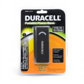 Duracell Black Universal 4000 mAh Portable Power Bank w/ Micro USB & USB Ports - DU7170