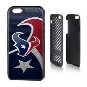 NFL Licensed Houston Texans Protective Rugged Hard Cover on TPU Hybrid Case for Apple iPhone 6