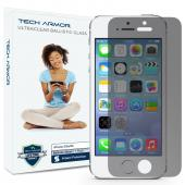 Tech Armor Apple iPhone 5/5c/5s Premium Privacy Ballistic Glass Screen Protector - Keep Your Information Private