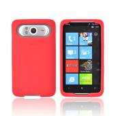 Original HTC HD7 / HTC HD7s Silicone Case, 70H00356-07M - Red