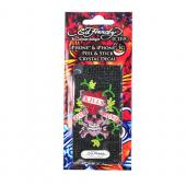 Original Ed Hardy Apple iPhone & iPhone 3G 3GS Bling Crystal Decal - Love Kills Slowly Design on Black Gems