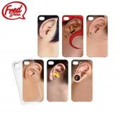 Fred & Friends Apple iPhone 4/4S All Ears Snap-On Case w/ Six Different Designs - Guys' Ears