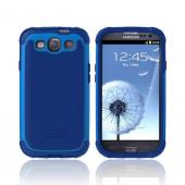 OEM Ballistic Samsung Galaxy S3 SG Hard Case on Silicone, SG00930-M775 - Blue/ Navy