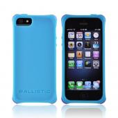 OEM Ballistic Apple iPhone 5/5S Lifestyle Smooth Gel Skin Case w/ Interchangeable Corner Bumpers  LS0955-M075 - Teal