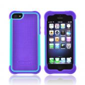 Ballistic Purple/ Teal SG Series Hard Case on Silicone for Apple iPhone 5/5S - SG0926-M015