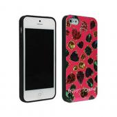 Betsey Johnson Gems Design Hard Case for Apple iPhone 5/5S