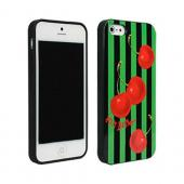 Betsey Johnson Cherries Design Hard Case for Apple iPhone 5/5S