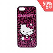 Officially Licensed Sanrio Apple iPhone 5/5S Hard Back Cover  KT4489PBW - Hello Kitty w/ Bows
