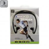OEM Delton X9 Thunder Universal Bluetooth Wireless Stereo Headphones - Black