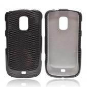 OEM MultiPro Samsung Galaxy S Lightray 4G Hard Case - Black/ Gray Carbon Fiber Design