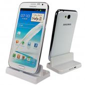 Power Source White Universal Samsung Series Sync & Charge Cradle for Samsung Galaxy S and Note Series