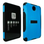 Blue Trident Aegis Series Hard Cover on Silicone Case w/ Screen Protector for Samsung Galaxy Note 8.0 - AG-SAM-NOTE8-BLU