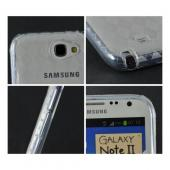 MultiPro Argyle Clear Crystal Silicone Case for Samsung Galaxy Note 2