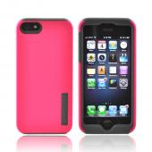 Incipio Hot Pink/ Gray DualPro Series Hard Cover Over Silicone for Apple iPhone 5/5S - IPH-816