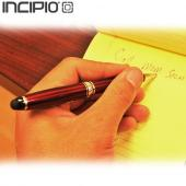 Incipio Universal Inscribe Executive Stylus & Ball-Point Pen, STY-106 - Red/ Silver