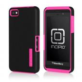 Incipio DualPro Series Black Hard Cover on Hot Pink Silicone Case for BlackBerry Z10