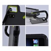 OEM PureGear Apple iPhone 5 PX360 Rubberized Hard Impact Case w/ Utility Tool, Carabiner & Screen Protector - Black/ Lime Green