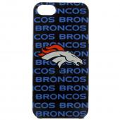 Denver Broncos Hard Case for Apple iPhone 5/5S - NFL Licensed