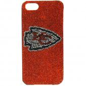 Kansas City Chiefs Bling Gems Hard Case for Apple iPhone 5/5S - NFL Licensed