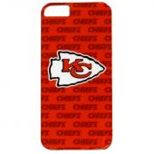 Kansas City Chiefs Hard Case for Apple iPhone 5/5S - NFL Licensed