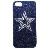 Dallas Cowboys Bling Gems Hard Case for Apple iPhone 5/5S - NFL Licensed
