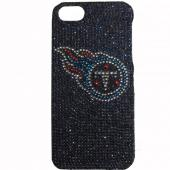 Tennessee Titans Bling Gems Hard Case for Apple iPhone 5/5S - NFL Licensed