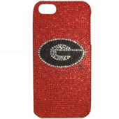 Georgia Bulldogs Bling Gems Hard Case for Apple iPhone 5/5S - NCAA Licensed