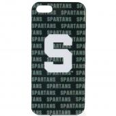 Michigan State Spartans Hard Cover Case for Apple iPhone 5/5S - NCAA Licensed