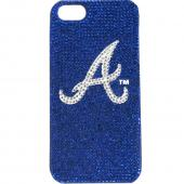 Atlanta Braves Bling Gems Hard Case for Apple iPhone 5/5S - MLB Licensed