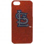 St. Louis Cardinals Bling Gems Hard Case for Apple iPhone 5/5S - MLB Licensed