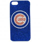Chicago Cubs Bling Gems Hard Case for Apple iPhone 5/5S - MLB Licensed