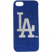 LA Dodgers Bling Gems Hard Case for Apple iPhone 5/5S - MLB Licensed